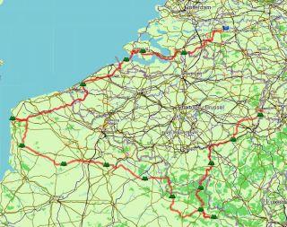groene fietsroutes frankrijk